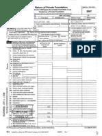 Alabama Toll Facilities IRS Filing 2007