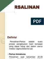 PERSALINAN