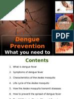Dengue Prevention & Information, September 15, 2011