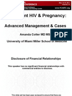 Adolescent HIV & Pregnancy Advanced Management & Cases