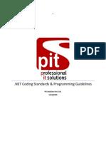 DotNet Coding Standards V0p2