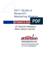 Guide Nonprofit Marketing Wisdom 2011