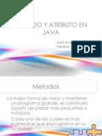 Metodo y Atributo en Java