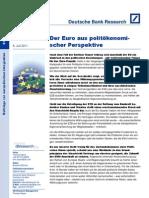 Der+Euro+aus+politökonomischer+Perspektive