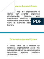 Performance Appraisal System3