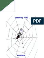 Elementary HTML