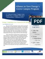July-Green Campus Newsletter