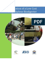 Installation of a Low Cost Polyethylene Bio Dig Ester