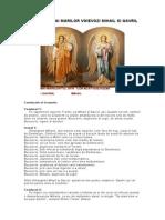 Acatistul Sf Arhangheli Mihail Si Gavril