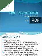 Staff Development Final
