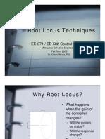 Root Locus Techniques