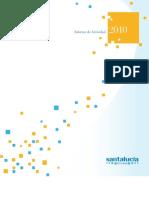 santalucía seguros - Informe de actividad 2010