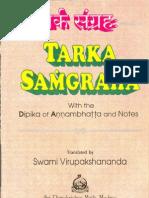 Tarka Samgraha-Ramkrishna Mission