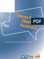 Working-Australia-Census-2011 Voices From Working Australia Report