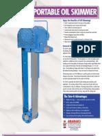 Tote-It Belt Oil Skimmer, Portable Belt Oil Skimmer | Abanaki Corporation