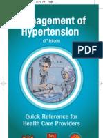 Qr Management of Hypertension (3rd Edition)