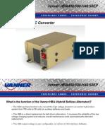 Vanner HBA Overview 9-7-11
