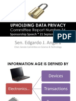 Upholding Data Privacy