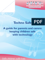 Techno Safe - A guide for parents and carers