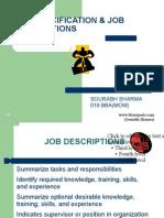 Job Specification -SourabhSharma