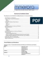Hammerora Install Guide v2.7