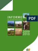 Informe de biodiversidad Iberdrola 2010