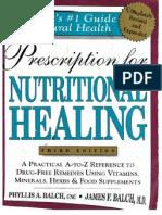 Prescriptions for Nutritional Healing
