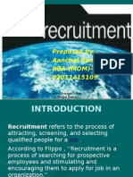 Recruitment -Aanchal Bansal