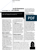 How to Develop an E-commerce Strategy