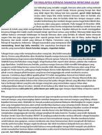 Bantuan Kemanusiaan Malaysia Kpd Mangsa Bencana Alam