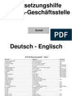 Übersetzungshilfe KTA  D-E