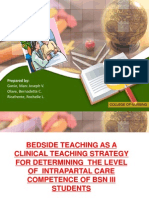 Power Point - Bedside Teaching