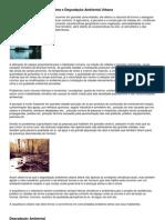 Clima e Degradação Ambiental Urbana