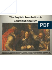 english revolution and constitutionalism
