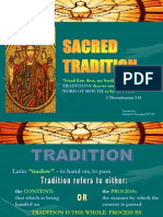 1 Sacred Tradition