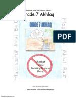 Grade7-Akhlaq
