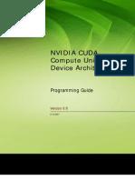 NVIDIA CUDA Programming Guide 0