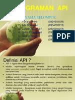 Pemograman API