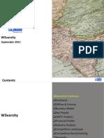 W3varisity - Company Profile