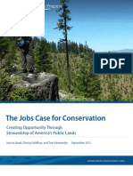 The Jobs Case for Conservation