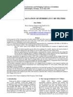 Hybrid LTCC_RF Filters_Design and Evaluation