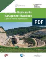 Manual de Gestao Da Biodiversidade Pelas Empresas