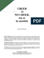 Creer o No Creer