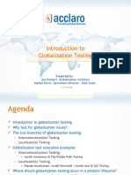 Introduction to Globalization Testing with Acclaro
