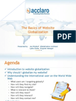 The Basics of Website Globalization with Acclaro
