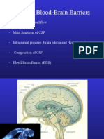 Lecture 11 - 3rd Asessment - CSF and Blood-Brain Barriers