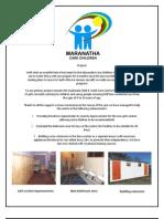 Maranatha Care Children Newsletter September 2011