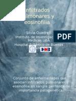 Infiltrado Pulmonar y Eosinofilia