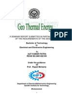 Geothermal Report