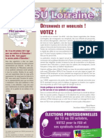 4 PAGES FSU 09 ELECTIONS OCTOBRE 2011